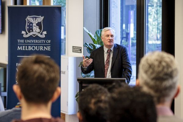 Professor Glenn Browning said the One Health PhD Program would give graduate researchers access to interdisciplinary seminars, workshops, mentoring opportunities and engagement with industry.