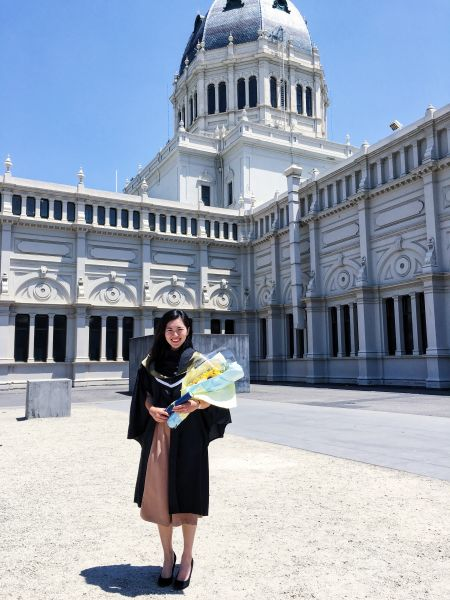 Graduating with a Bachelor of Science